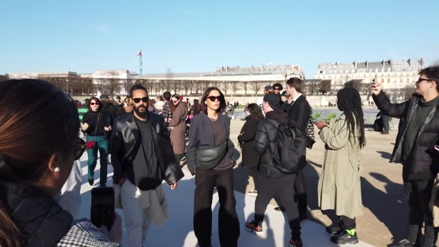 FRA: Paris Fashion Week - Menswear F/W 2020-2021 : Celebrity Sightings