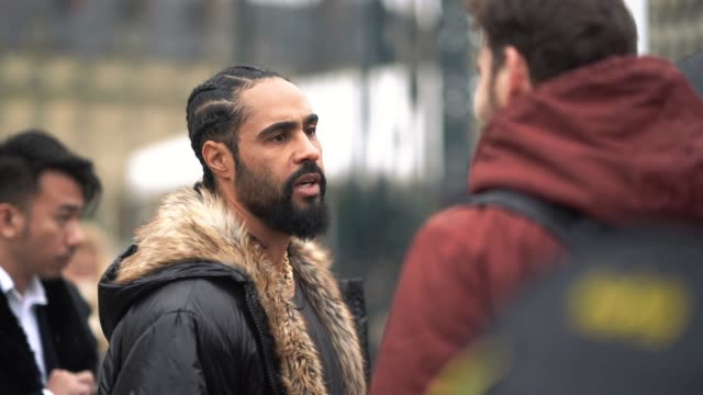 Jerry Lorenzo Fear of God founder is seen outside Maison Margiela during Paris Fashion Week Menswear Fall Winter 20182019 on January 19 2018 in Paris...