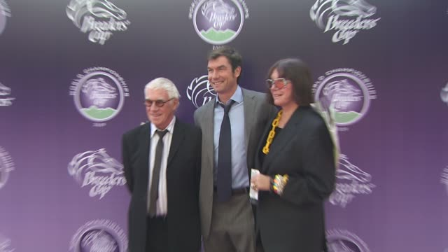 jerry o'connell at the breeders' cup world thoroughbred championships at arcadia ca. - championships stock videos & royalty-free footage