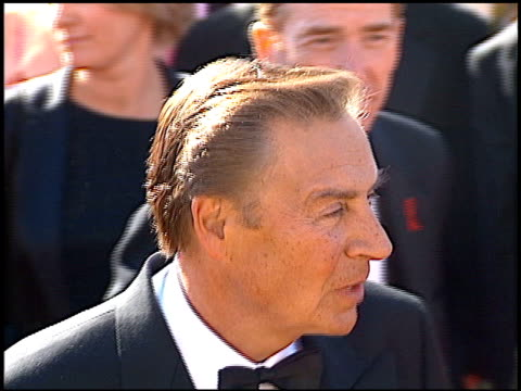 jerry orbach at the 2000 emmy awards at the shrine auditorium in los angeles, california on september 10, 2000. - shrine auditorium stock videos & royalty-free footage