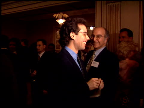 Jerry Seinfeld at the Producer's Guild Dinner at the Regent Beverly Wilshire Hotel in Beverly Hills California on March 2 1994