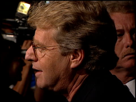 jerry springer at the 'ringmaster' premiere with jerry springer at the cinerama dome at arclight cinemas in hollywood, california on november 12,... - ringmaster stock videos & royalty-free footage