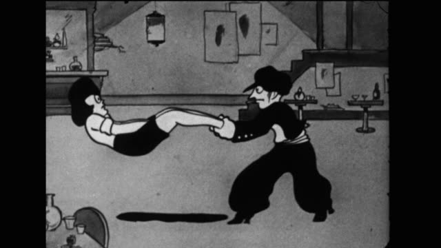 jerry the cradle snatcher misinterprets dancing for assault - confusion stock videos & royalty-free footage