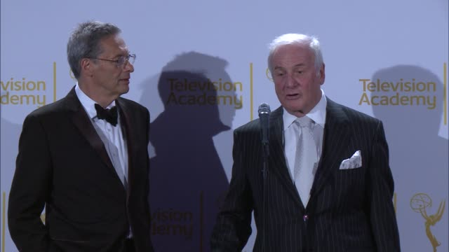 SPEECH Jerry Weintraub at 2014 Creative Arts Emmy Awards in Los Angeles CA