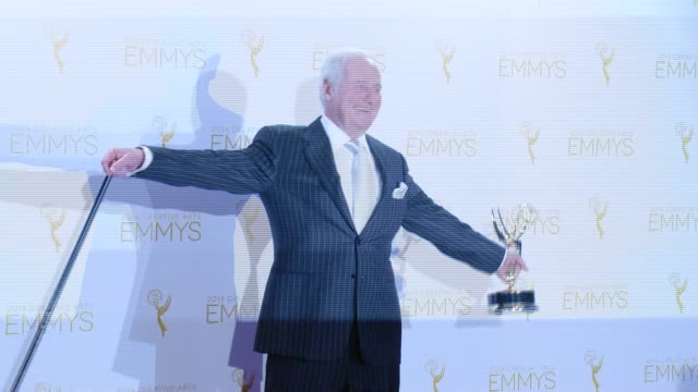 Jerry Weintraub at 2014 Creative Arts Emmy Awards in Los Angeles CA