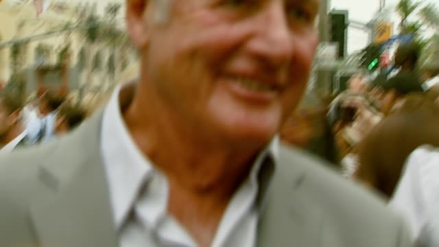 Jerry Weintraub at the 'Ocean's Thirteen' Handprint and Footprint Ceremony at Grauman's Chinese Theatre in Hollywood California on June 5 2007