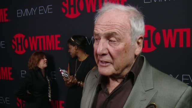 INTERVIEW Jerry Weintraub on why he wanted to celebrate Emmy Eve with Showtime at SHOWTIME 'Emmys Eve' 2014 on August 24 2014 in Los Angeles...