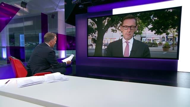 London GIR INT Senator Ian Gorst LIVE 2WAY interview from St Helier SOT