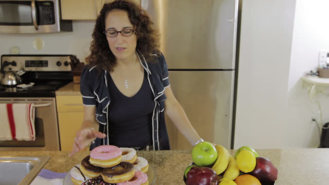 jersey city, new jersey, usa - doughnut stock videos & royalty-free footage