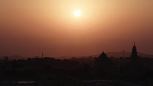 jerusalem at sunset - israel stock videos & royalty-free footage
