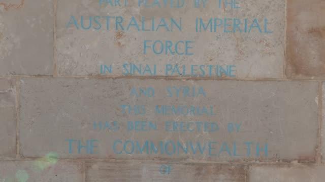 jerusalem british war cemetery - world war one stock videos & royalty-free footage