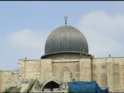 jerusalem mosque - arabesque stock videos & royalty-free footage