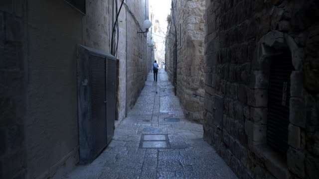 jerusalem old city - jerusalem stock videos & royalty-free footage