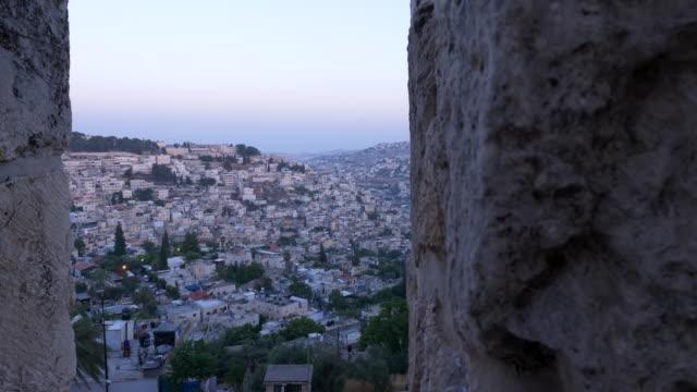 jerusalem old city - 耶路撒冷 個影片檔及 b 捲影像