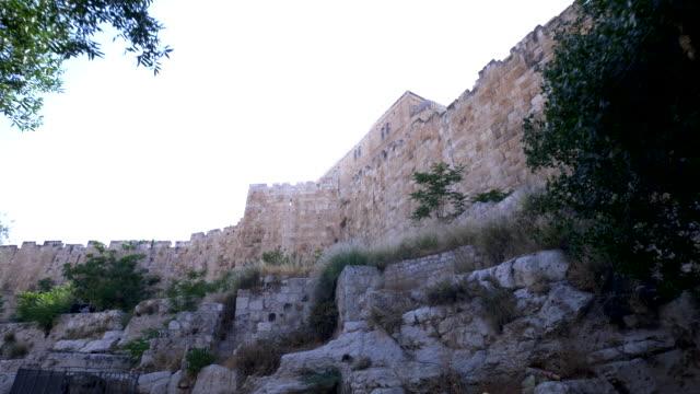vídeos de stock, filmes e b-roll de jerusalem old city - jerusalém