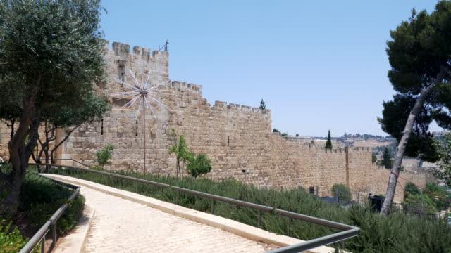 vidéos et rushes de jerusalem old city - jérusalem