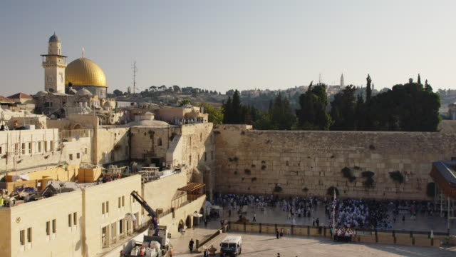 jerusalem old city - old town stock videos & royalty-free footage