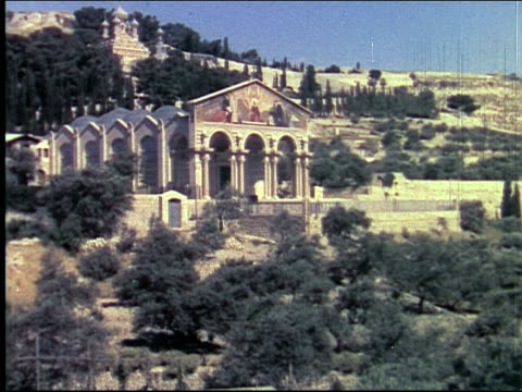 1950 jerusalem - onion dome stock videos and b-roll footage