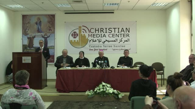 jerusalems latin patriarchate on wednesday hailed the upcoming canonisation by pope francis of two nuns who will become the first modern day... - heiliger stock-videos und b-roll-filmmaterial