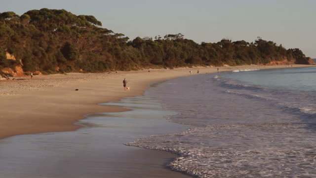 jervis bay, australia - water's edge stock videos & royalty-free footage
