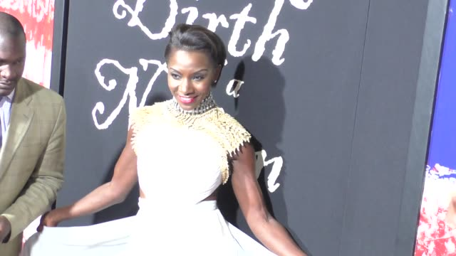 """jeryl prescott at """"the birth of a nation"""" premiere presented by fox searchlight at arclight cinemas cinerama dome on september 21, 2016 in hollywood,... - cinerama dome hollywood stock-videos und b-roll-filmmaterial"""