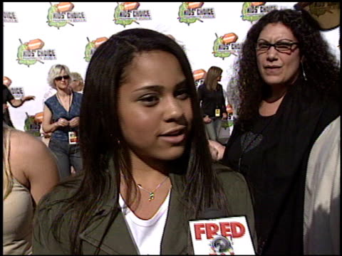 jerz at the 2003 kids' choice awards at barker hanger in santa monica california on april 12 2003 - nickelodeon kid's choice awards video stock e b–roll