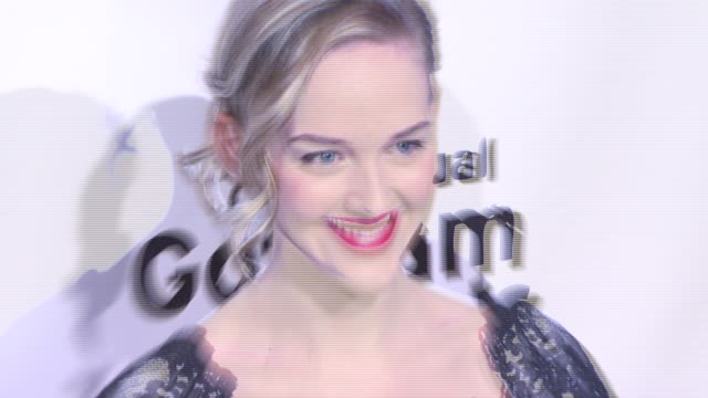 jess weixler at the 17th annual gotham awards presented by ifp at steiner studios in brooklyn, new york on november 27, 2007. - independent feature project stock videos & royalty-free footage