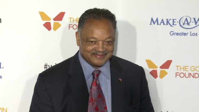 jesse jackson at 4th annual wishing well winter gala presented by makeawish greater los angeles in los angeles ca - wishing well stock videos & royalty-free footage