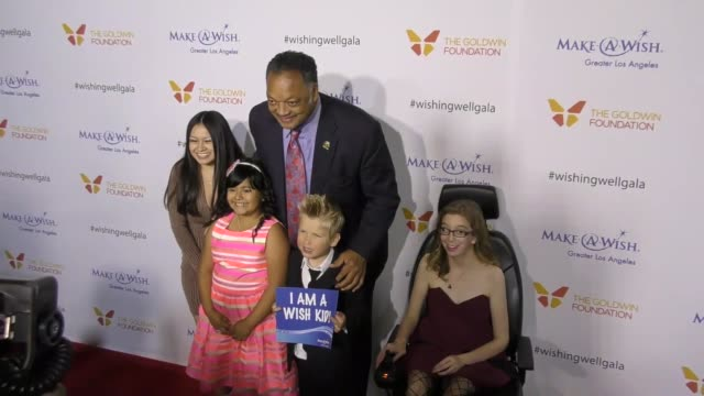 jesse jackson at the 4th annual wishing well winter gala presented by makeawish greater los angeles at hollywood palladium on december 07 2016 in los... - wishing well stock videos & royalty-free footage