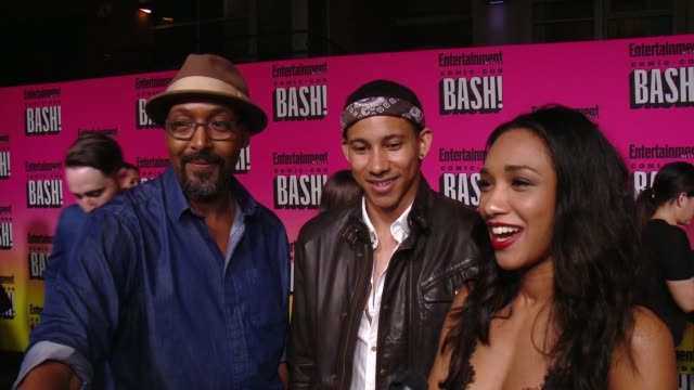 INTERVIEW Jesse L Martin Keiynan Lonsdale Candice Patton from The Flash at Entertainment Weekly Hosts Annual ComicCon Celebration in San Diego CA