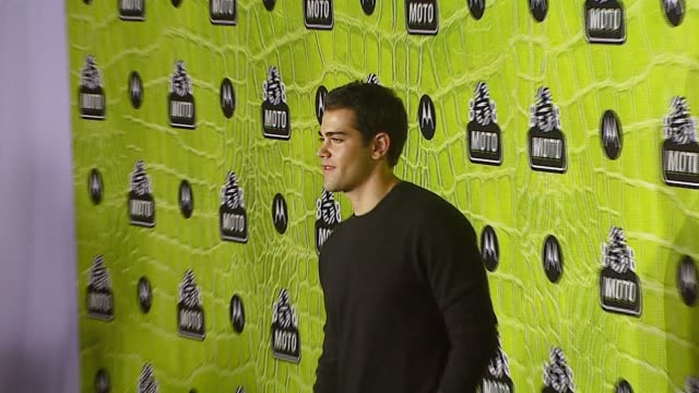 jesse metcalfe at the 8th annual anniversary party hosted by motorola at the hollywood palladium in hollywood, california on november 2, 2006. - motorola stock videos & royalty-free footage