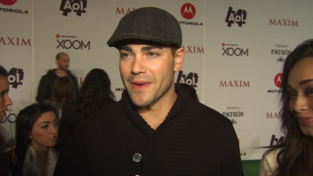 vidéos et rushes de jesse metcalfe on why he wanted to come out to the maxim party, his fondest state fair memeories, if he has any super bowl traditions, if he's... - nfc