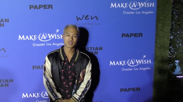 Jesse Montana at the PAPER Magazine Runway Benefit For MakeAWish Foundation on October 24 2017 in Los Angeles California
