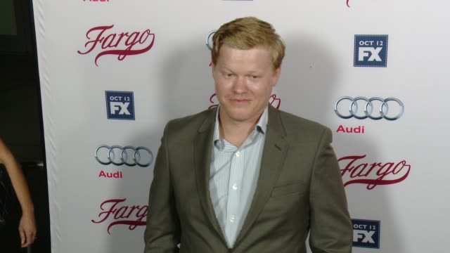 jesse plemons at fx's fargo los angeles premiere at arclight cinemas on october 07 2015 in hollywood california - arclight cinemas hollywood stock videos & royalty-free footage