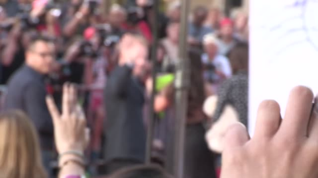 Jesse Tyler Ferguson arrives at the Muppets Most Wanted premiere at the El Capitan Theatre in Hollywood Celebrity Sightings in Los Angeles on March...