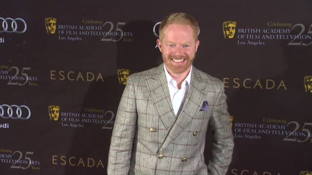 jesse tyler ferguson at bafta los angeles 18th annual awards season tea party on 1/14/2012 in beverly hills ca - tea party stock videos and b-roll footage