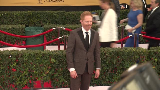 Jesse Tyler Ferguson at the 21st Annual Screen Actors Guild Awards Arrivals at The Shrine Auditorium on January 25 2015 in Los Angeles California