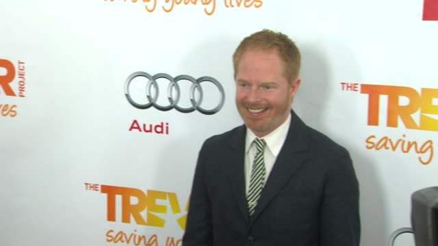 jesse tyler ferguson at the trevor project's 2012 'trevor live' honoring katy perry on 12/2/12 in los angeles ca - jesse tyler ferguson stock videos and b-roll footage