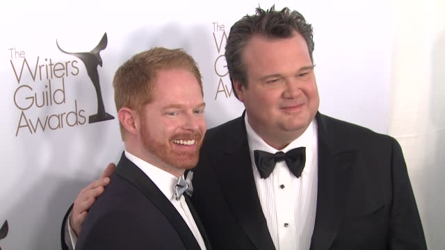 Jesse Tyler Ferguson Eric Stonestreet at the The Writers Guild Awards at Hollywood CA