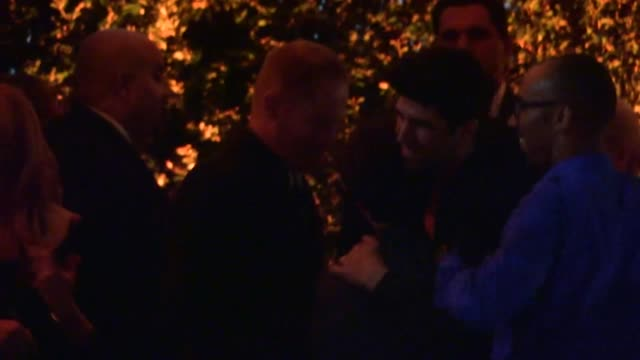 stockvideo's en b-roll-footage met jesse tyler ferguson & justin mikita arrive at 2013 entertainment weekly pre emmy party in weho at celebrity sightings in los angeles jesse tyler... - pre emmy party