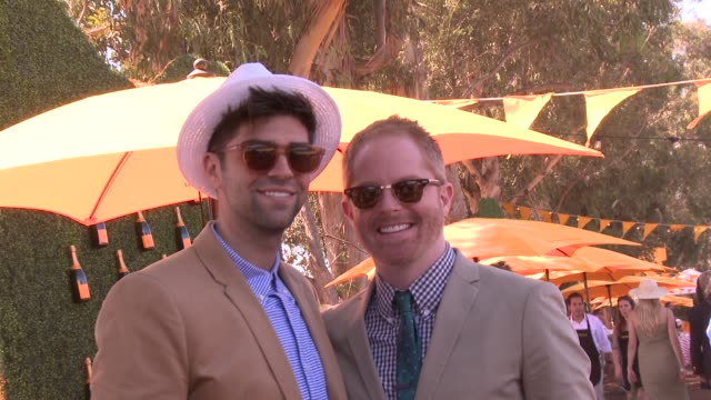 Jesse Tyler Ferguson Justin Mikita at Fourth Annual Veuve Clicquot Polo Classic Los Angeles Benefiting Will Rogers State Historic Park on 10/5/2013...