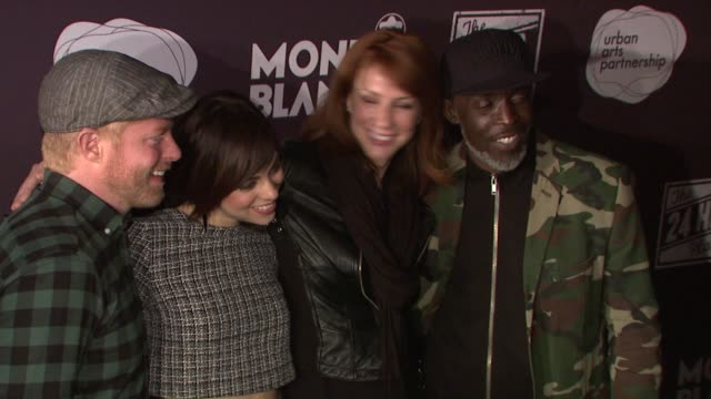 Jesse Tyler Ferguson Krysta Rodriguez Diane Neal and Michael K Williams at Montblanc Presents the 13th Annual 24 Hour Plays on Broadway at the BB...