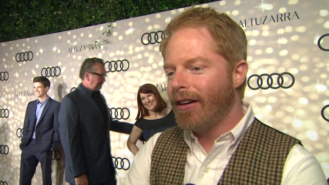INTERVIEW Jesse Tyler Ferguson on being nominated how he's preparing for the big day who he's personally rooting for at Audi And Altuzarra Kick Off...
