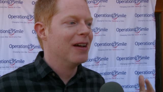 jesse tyler ferguson on his first time in utah at operation smile first annual celebrity smile challenge on 3/31/12 in park city ut - jesse tyler ferguson stock videos and b-roll footage