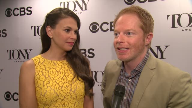 INTERVIEW Jesse Tyler Ferguson on his play in NYC this summer Comedy of Errors at 2013 Tony Award Nominations at The New York Public Library for the...