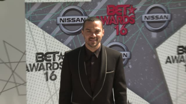 vídeos de stock e filmes b-roll de jesse williams at 2016 bet awards in los angeles ca - bet awards