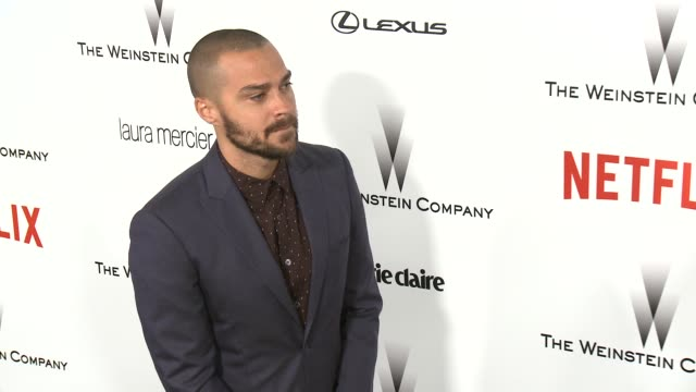 Jesse Williams at the 2015 Weinstein Company And Netflix Golden Globe After Party at Robinsons May Lot on January 11 2015 in Beverly Hills California