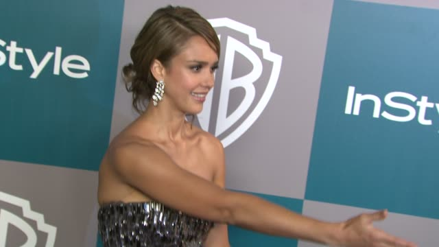 Jessica Alba at 13th Annual Warner Bros And InStyle Golden Globe AfterParty on 1/15/2012 in Beverly Hills CA