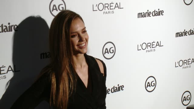 Jessica Alba at Marie Claire's Image Maker Awards in Los Angeles CA