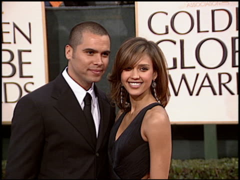 Jessica Alba at the 2006 Golden Globe Awards at the Beverly Hilton in Beverly Hills California on January 16 2006